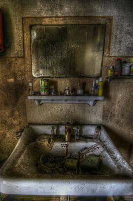 Bathroom Sinks Digital Art - Bathroom Sink by Nathan Wright