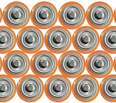 Positivity Photograph - Batteries by Victor De Schwanberg