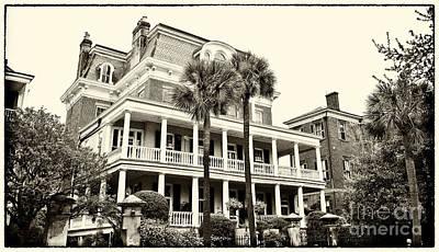 Charleston Photograph - Battery Carriage House Inn by Jill Lang
