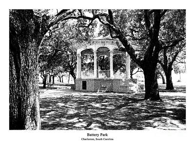 Battery Park - Architectural Renderings Print by A Wells Artworks