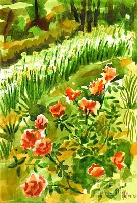 Tapestries Textiles Painting - Battle Array by Kip DeVore