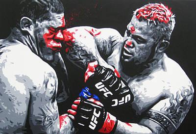 Ufc Painting - Battle Of Brisbane by Geo Thomson