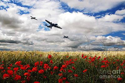 11th Digital Art - Battle Of Britain Memorial Tribute  by J Biggadike
