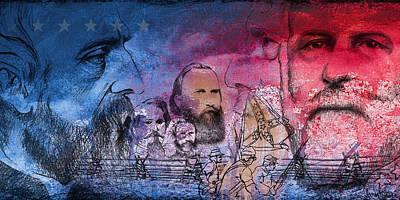 Battle Of Gettysburg Tribute Day One Print by Joe Winkler