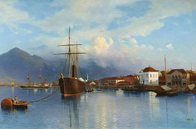 Lev Lagorio Painting - Batumi by Lev Feliksovich Lagorio