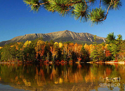 Baxter Fall Reflections  Print by Alana Ranney