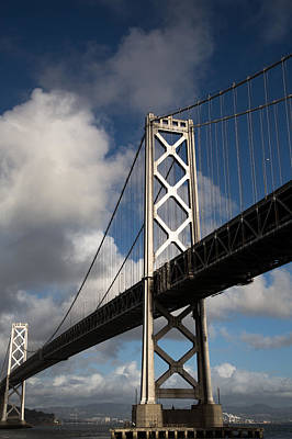 Bay Bridge After The Storm Print by John Daly