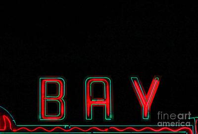 Bay In Neon  Print by Kris Hiemstra