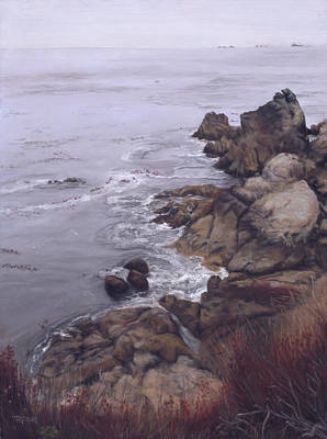 Bay Inlet In October Original by Terry Guyer
