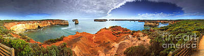 Great Ocean Road Photograph - Bay Of Islands by Bill  Robinson