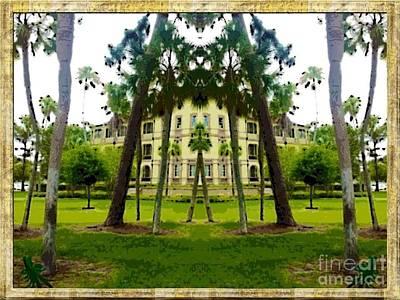 Bay Pines Print by Caroline Gilmore