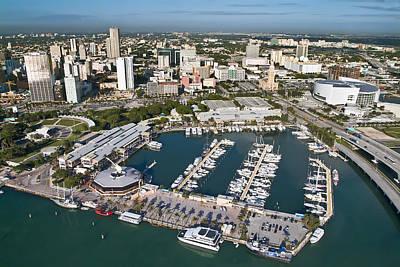 Bayfront Miami Print by Patrick M Lynch