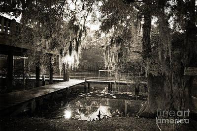 South Louisiana Photograph - Bayou Evening by Scott Pellegrin