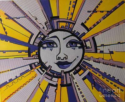 Bazinga - Sun Print by Grace Liberator