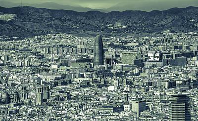 Barcelona Photograph - BCN by Alejandro Tejada