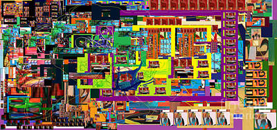 Tzaddik Digital Art - be a good friend to those who fear Hashem 15 by David Baruch Wolk