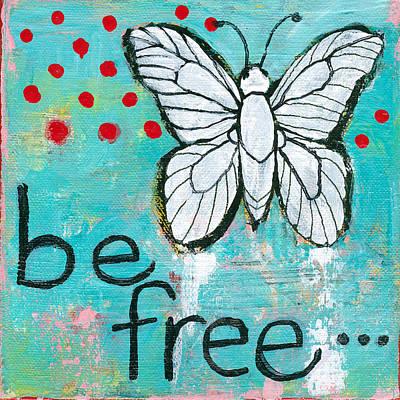Spring Painting - Be Free by Blenda Studio