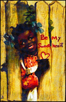 Youngster Digital Art - Be My Sweet Heart by Raphael Tuck And Sons