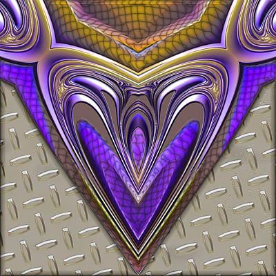 Be My Valentine Digital Art - Be Steel My Heart by Wendy J St Christopher