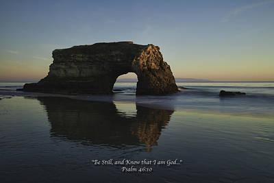 Coast Photograph - Be Still by Alan Kepler