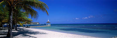 Beach At Half Moon Hotel, Montego Bay Print by Panoramic Images