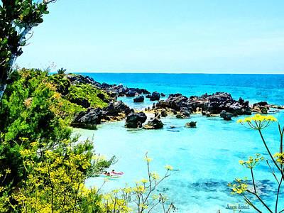 Landscape Photograph - Beach At St. George Bermuda by Susan Savad
