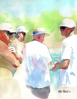 Aging Painting - Beach Boys by Kris Parins