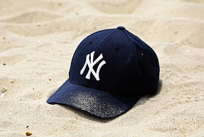 Old Yankee Photograph - Beach Cap by John Rizzuto