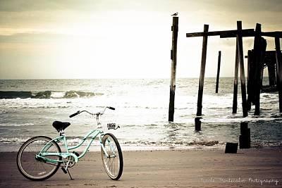 Beach Cruiser Photograph - Beach Cruisin' by Nicole Montecalvo