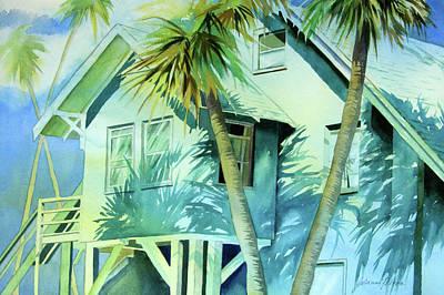 Painting - Beach Cottage by Julianne Felton
