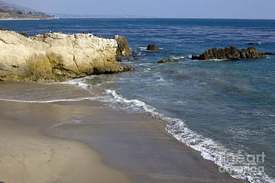 Beach Photograph - Beach Malibu by David Millenheft