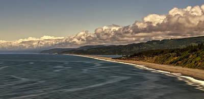 Agate Beach Oregon Photograph - Agate Beach by Maria Coulson