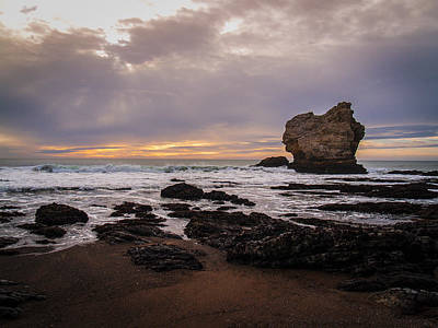 Ocean Photograph - Beach Near Arch Rock 2 by Philip Tolok