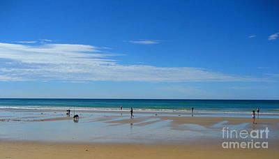 Beach Of  Grand Ocean Road In Australia Print by Juan Jiang