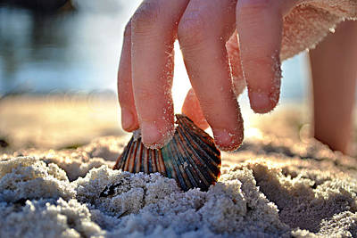Water Play Photograph - Beach Play by Laura Fasulo