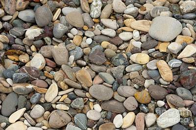 Waves Photograph - Beach Rocks by Artist and Photographer Laura Wrede