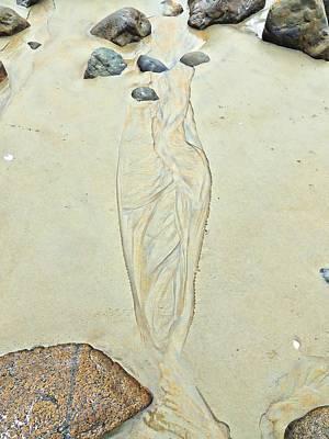 Beach Sand 4   Print by Marcia Lee Jones