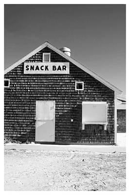 Snack Bar Photograph - Beach Snack Bar Off-season by Brooke Ryan