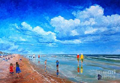Painting - Beach Therapy by Keith Wilkie