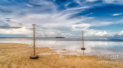 Volleyball Photograph - Beach Volleyball by Adrian Evans