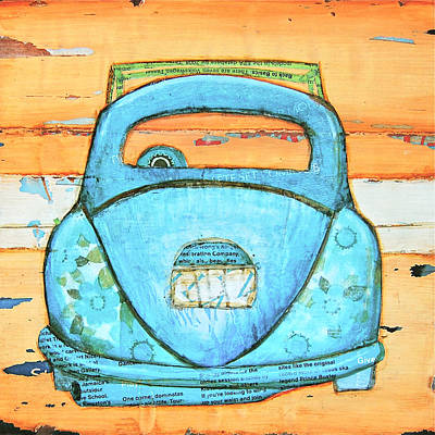 Beetle Mixed Media - Beachbound by Danny Phillips