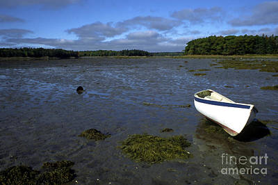 Penobscot Bay Photograph - Beached Fishing Boat by Thomas R Fletcher