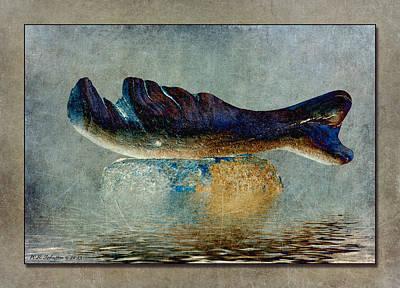 Beached Whale II Print by WB Johnston