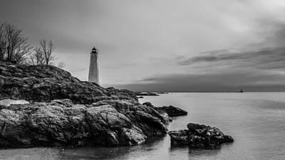 Ledge Photograph - Beacons Of Yesteryear by Randy Scherkenbach