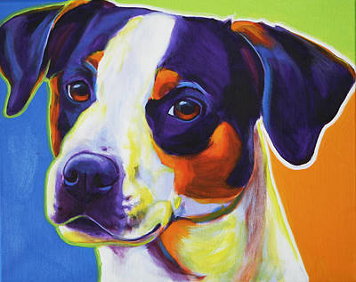 Beagle Puppies Painting - Beagle - Lady Baillee by Alicia VanNoy Call