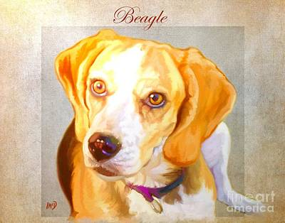 Beagle Art Print by Iain McDonald