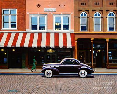 Beale Street Memphis Print by Frank Dalton