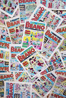 1980s Photograph - Beano Comics by Tim Gainey