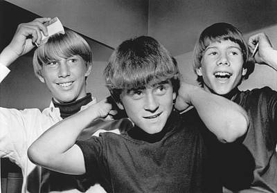 San Diego Artist Photograph - Beatle Haircuts Get Reprieve by Underwood Archives