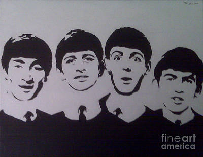 Beatles Print by Tamir Barkan
